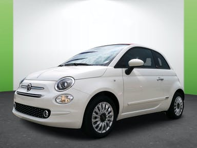 Fiat 500 Cabrio Lounge Fire Fly Hybrid